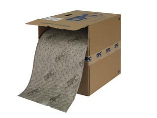 Úklidové sorpční koberce v dávkovacím boxu