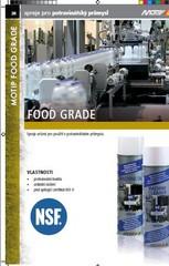 Katalog technické chemie potraviny FOOT GRADE