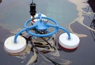 Olejový skimmer pro vodní plochy - 1 kus