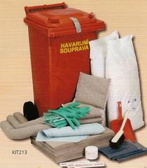 Havarijní souprava úklidová KIT 213 - 1 ks