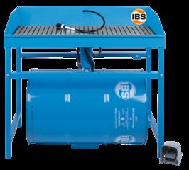 Mycí stůl IBS pro sudy 200 l typ M - 1 ks