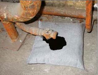 Sorpční polštář úklidový typ UP 2525 - balení 40 kusů