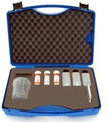 Kufřík ARIANA pro testování kvality řezných emulzí 1 sada