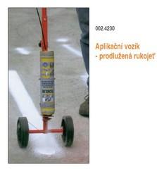 Aplikační vozík prodloužená rukojeť - 1 kus