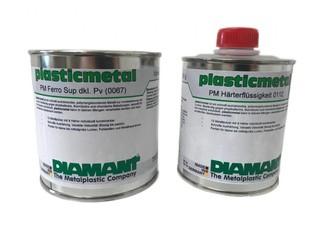 Diamant Plastic Ferro dunkel - 1,5 kg, typ superior