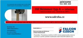 Oil skimmer Typ A - AKČNÍ NABÍDKA