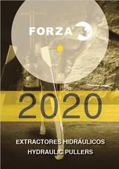 Katalog hydraulických stahováků FORZA - K dispozici ke stažení
