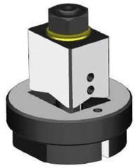 Čtvercové děrovače plechu tloušťky 2 mm