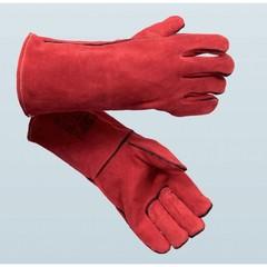 Rukavice svářečské červené