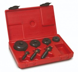 Nebroušené děrovače plechu tloušťky 2 mm, sady 4 dílné