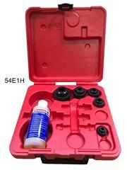 Hydraulické děrovače plechu tloušťky 2 mm, sady